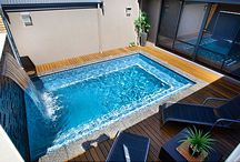 Small swimming pool