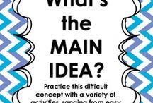 Work - main idea/summarizing/paraphrasing