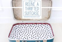 Favorite crafts / What you can do with an old suitcase