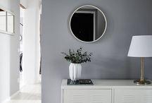 Hallway & mirrors