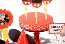 Mickey Mouse Birthday Party / Ideas for little man's 2nd birthday! Mickey Mouse themed!