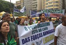 A NOVA MARCHA DAS VIVANDEIRAS DE QUARTÉIS REÚNE 500 GATOS PINGADOS EM SAMPA E 150 NO RIO