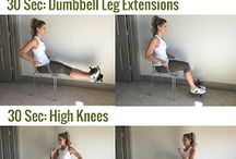 Fitness at Home / For when the gym is not an option!