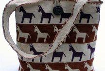 horgolt táskák, Tapestry crochet