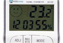Termometru si higrometru Kidscare