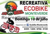 Recreativas MTB Julio 2016 / Calendario de Eventos de Ciclismo Recreativo en MTB para Costa Rica