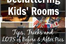 Teaching Kids Organizational Skills / Helpful hints and tips to get kids organized.