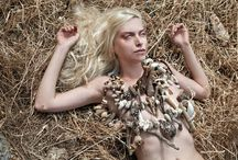 A swan's summer fantasy / A swan's summer fantasy  Summer jewellery by Pericles Kondylatos Photos: George-Kwnstantinos Malekakis  Model: Diana Chemeris  Make –up: Morfe A.Meni