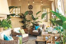 tropical decorating