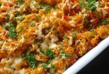 rijst met kip uit de oven schotel