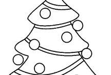 Coloriages Noël et Hiver