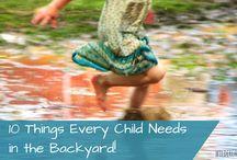 Backyard play ideas