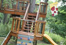 Outdoor Play Area / by Melinda Sims