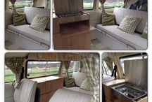 Westfalia T2 camper / Inrichting
