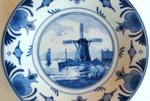 delft blue / by Russells Marvelous Page
