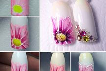 2. Маникюр / ЦВЕТЫ / florals / МКлассы