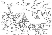 zeichnen winter