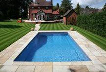 Swimming pools and gazebos