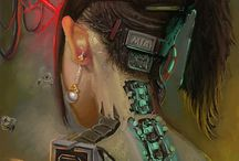 Cyberpunk | post-apo | dark styles