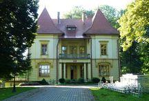 Izdebki - Pałac / Pałacyk w Izdebkach zbudowany został w XIX wieku według projektu Tadeusza Stryjeńskiego, dla rodziny Bukowskich. Podczas II WŚ w pałacyku ukrywali się ludzie działający w konspiracji. Po wojnie budynek przejęty przez Skarb Państwa, początkowo pełnił funkcję posterunku milicji, później jako Zespół Opieki Zdrowotnej. W roku 1995 miał miejsce remont kapitalny obiektu, dostosowując do nowego przeznaczenia - odtąd działa tam Środowiskowy Dom Samopomocy.