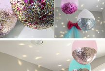 Party Decorations / Create games and decorations for parties