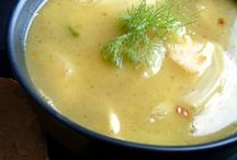 Soup's on! / Soups, soups, and more soups! / by Lisa Griffith