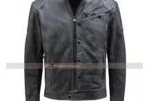 Star Wars Fighter Blouson Leather Jacket