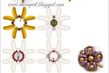 Chilli beads, Preciosa Pip, Rose Petal