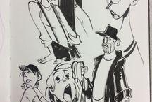 Karikatur tegneserie