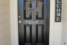 Front door / entrance