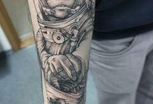 Tattoo work by Master Sasha Krank (men's tattoo) / men's tattoo