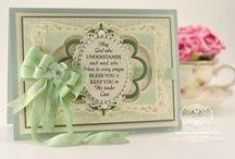 Leafy Background Stamp