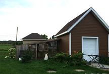 Lean-to Chicken Coop / How to build a slanted roof chicken coop or Lean-to Chicken coop in your backyard. Plans Ideas.