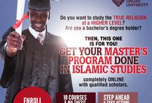 Masters in Islamic Studies (MAIS) / Islamic Online University offers the world's first tuition-free Master's program in Islamic Studies. Completely online! An excellent opportunity for BA students to continue with their studies! http://islamiconlineuniversity.com/mais/