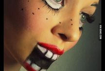 halloween face paint