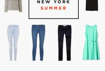 NYC / Planning my summer trip to The Big Apple- what to eat, wear, do.