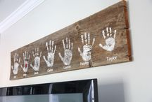 Kéz lenyomat kép