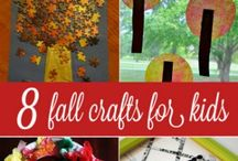 Fall craft / Alberi d'autunno