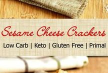 Sesame Cheese Crackers