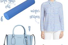 Spring Pantone Styles / How to wear Pantone's top colors for 2016. Cute outfits and trendy bags.