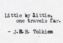 J.R.R Tolkien Quotes - Lord of the Rings & The Hobbit Trilogies / As original makers of the One Ring for the Lord of the Rings & The Hobbit Movie trilogies we love finding the quotes & writings of J.R.R Tolkien