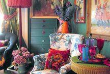 Tetrad Colour Scheme Interiors