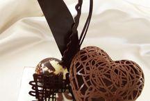 decoracion con chocolate