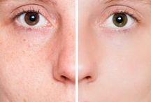 Backpulverpaste für das Gesicht