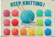 knitting & crocheting / by inkan