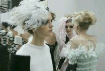 BACKSTAGES ( CHANEL )