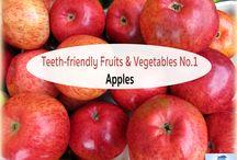 Teeth-friendly Fruits & Vegetables