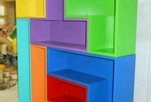 tetris hylle