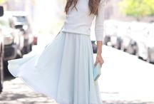 SKIRT / skirt, midi skirt, long skirt, flowy skirt, all kind of skirt