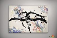 Black Rock Shooter - POSTERS